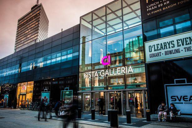 Kistan ostoskeskus Tukholmassa.