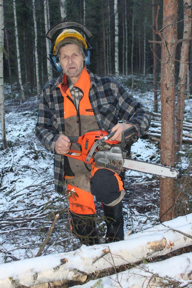 Jaakko Pessinen meni metsätöihin jo 7-vuotiaana.