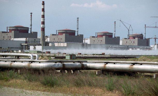 Ukrainan pääministeri tiedotti vasta tänään Zaporizhian ydinvoimalan onnettomuudesta.
