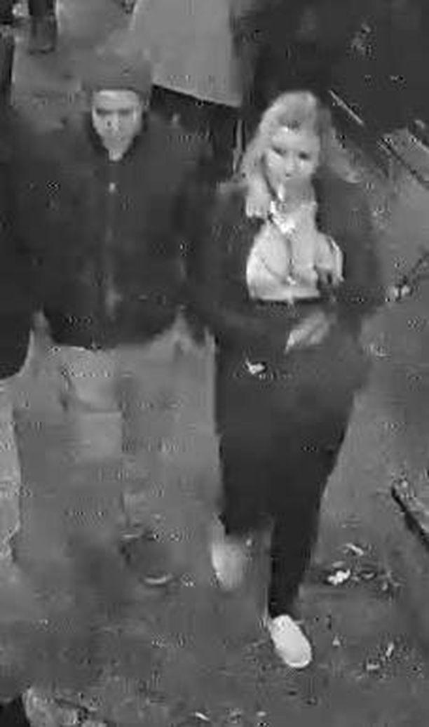 Poliisi pyytää kuvassa olevia henkilöitä ilmoittautumaan.