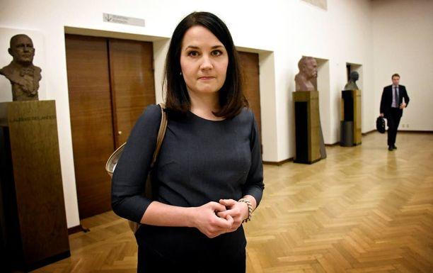 Opetus- ja kulttuuriministeri Sanni Grahn-Laasonen (kok) pitää kunnia-asiana tiiviitä yhteyksiä opiskelijaliikkeisiin.