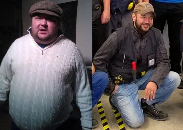 45-vuotias Jouni laihdutti vuodessa 60 kiloa. Hurjan muodonmuutoksen mahdollistivat terveellinen ruoka ja alkoholiton elämä.