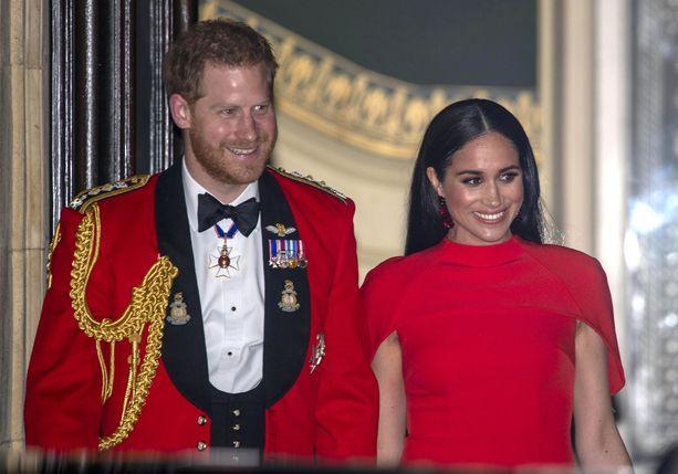 Kanadassa majailleet prinssi Harry ja herttuatar Meghan ovat suorittaneet viimeisiä edustustehtäviään viime päivinä Lontoossa.