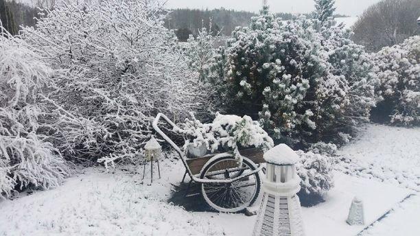 Lumipyryä on odotettavissa vain Lappiin, mutta sää on myös muualla maassa aiempaa talvisempi.