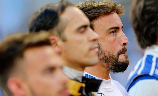 Fernando Alonsosta tuli jämätallin kuski.