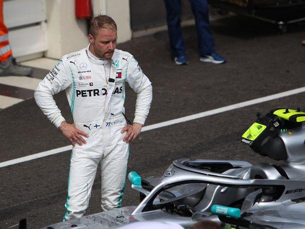 Valtteri Bottas joutui pettymään jo neljännen kerran peräkkäin.