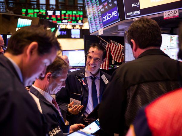 New Yorkin pörssissä koettiin historiallinen päivä.
