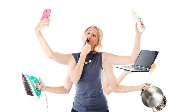 Osan kohdalla multitasking voi tarkoittaa käytännössä multipaskingia.