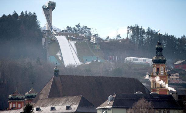 Innsbruckin maisemissa on kilpailtu olympiamitaleista kahdesti.
