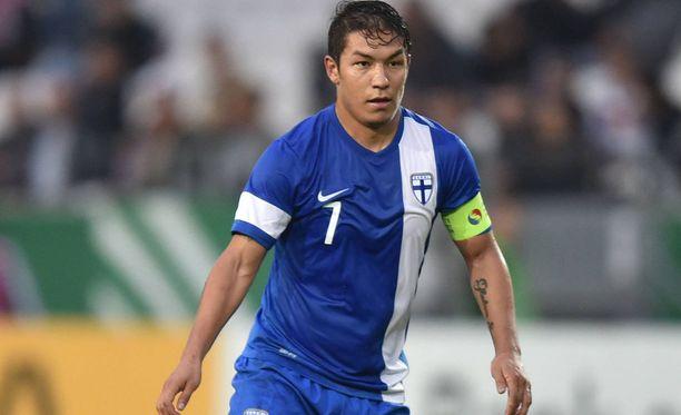 Moshtagh Yaghoubi toimi kapteeninakin nuorten maajoukkueessa.
