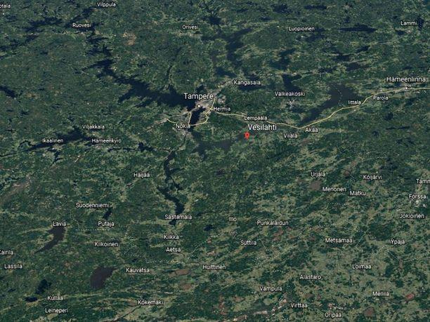 Poliisin mukaan Vesilahden operaatiosta ei ollut vaaraa ulkopuolisille.