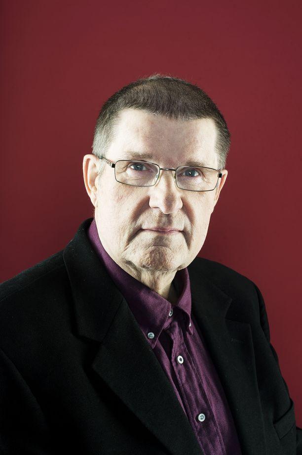 Matti Siitonen eli 78-vuotiaaksi. Kuva vuodelta 2015.
