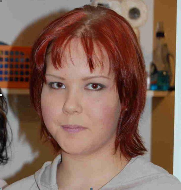 Punatukkainen Anu Tauriainen on ollut kateissa jo kesän alusta.