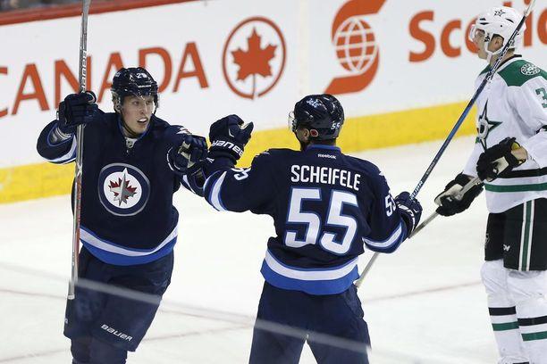 Patrik Laine on jatkanut uskomatonta vuottaan myös jääkiekkoliiga NHL:ssä.