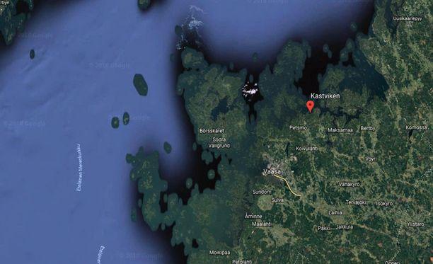 Henkilö hukkui jäihin Mustasaaren kunnassa Pohjanmaalla.