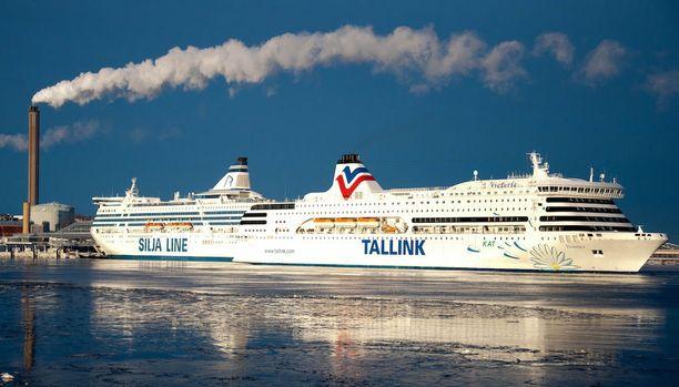 Terrori-iskun mahdollisuuteen on varauduttu myös Itämeren matkustajaliikenteessä. Kuvituskuva.