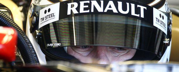 Kimi Räikkönen ajaa alkavalla kaudella Lotuksella.