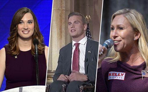 """Jenkkipolitiikan huipulle äänestettiin uusia kasvoja: QAnon-kannattaja, """"Trumpin kultapoika"""" ja pari transihmistä"""