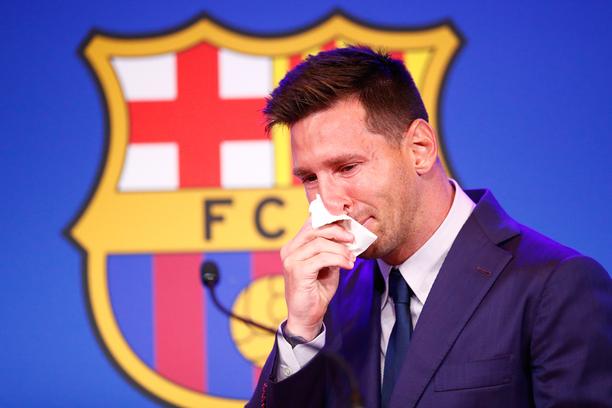 Lionel Messi halusi pysyä perheineen Barcelonassa.