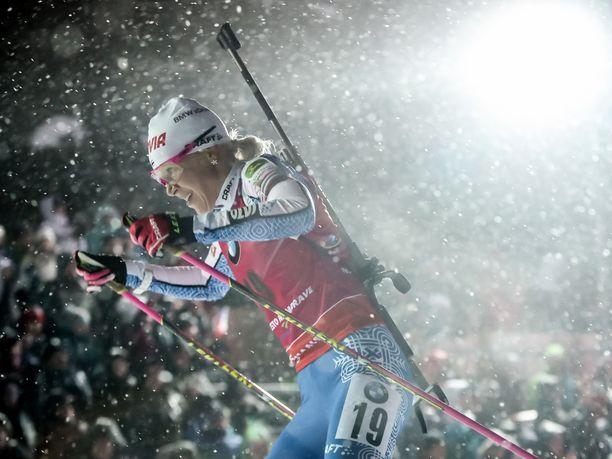 Perjantain pikakilpailu käytiin Tshekin Nove Mestossa melko vaikeissa olosuhteissa.