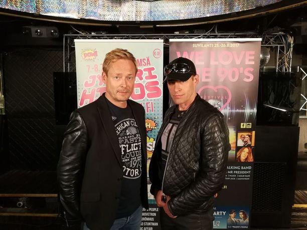 Rami Alanko ja Jussi Rainio lähtevät Neon 2:n kanssa keikoille.