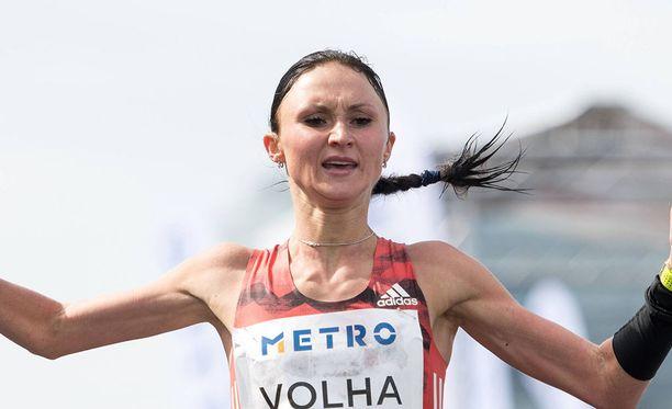 Volha Mazuronak on yksi Berliinin EM-maratonin ennakkosuosikeista.