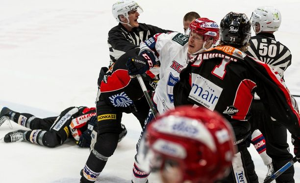 HIFK:n Joe Finley selvisi JYPin Michel Miklikin tyrmäännestä taklauksesta ilman pelikieltoa. Uusien linjausten myötä amerikkalaisjärkäleelle kuuluisi teosta lisärangaistus.