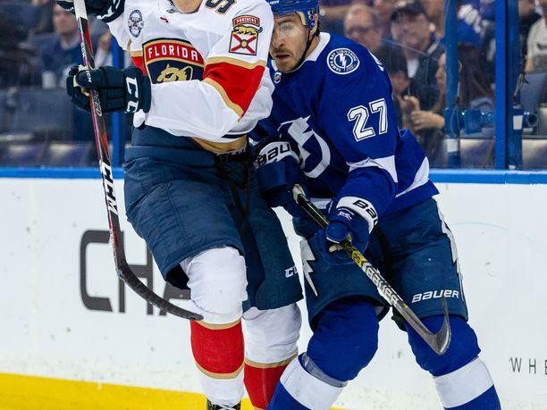 Henrik Borgström debytoi NHL:ssä viime kaudella.