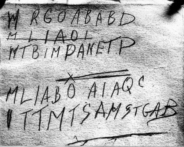 Mystisen koodin ajateltiin todistavan miehen toimineen vakoojana Toisessa maailmansodassa.