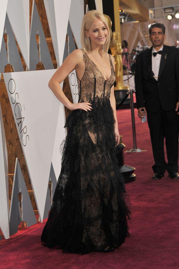 Oscar-palkittu näyttelijä saapui Oscar-gaalaan viimeisten joukossa.