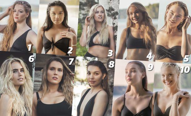 Miss EW -kauneuskilpailussa mitellään luonnollisesti kauneimman tittelistä.