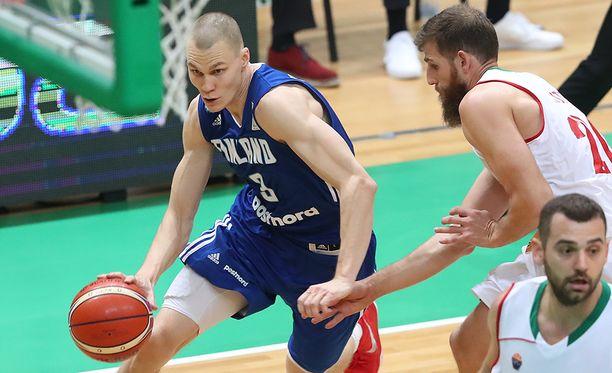 Bulgariaa vastaan loistanut Antti Kanervo lähti sairaalaan kesken Susijengin harjoitusten sunnuntaina.