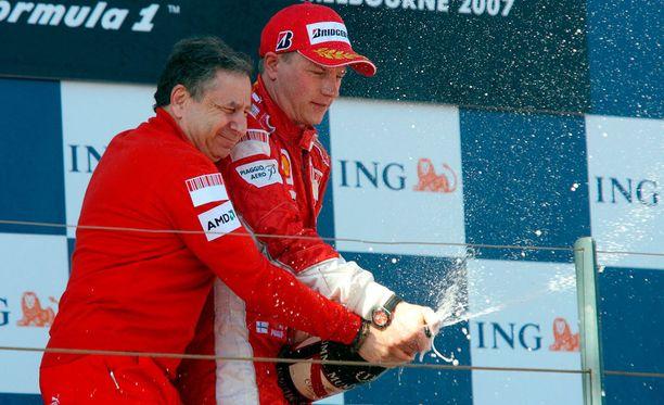 Tallipäällikkö Jean Todt iloitsi siitä, että Michael Schumacherin jälkeinen aika alkoi Ferrarilla makeasti.