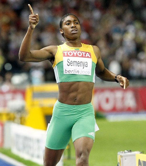 Caster Semenya voitti ylivoimaisesti MM-kultaa viime kesänä Berliinissä.