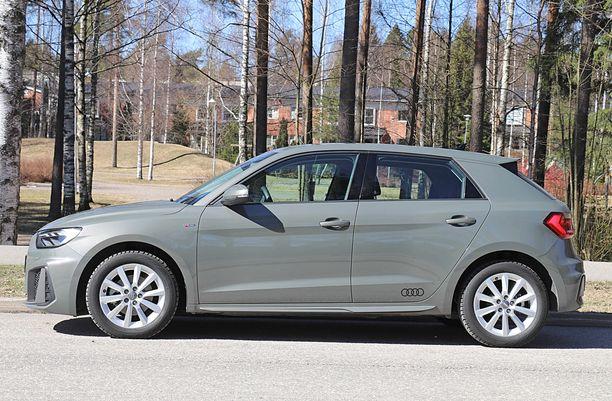 Audi A1 on likimain samankokoinen kuin VW Polo.