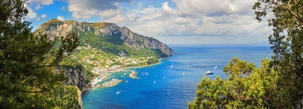 Napolinlahti oli antiikin aikaan suosittu rantalomakohde.