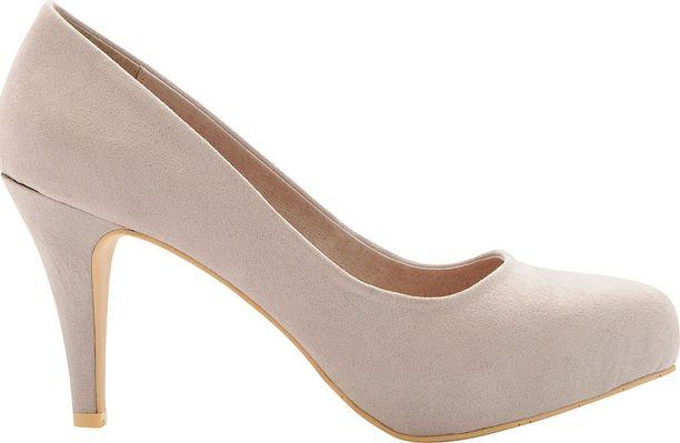 Beiget korkokengät ovat ylittäneet suosiossa jo mustat klassikot. Bianco Footwear, 59,95 €