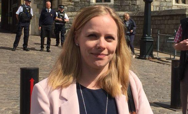 Iltalehden toimittaja Elina Kirssi seuraa kuninkaallisia häitä Lontoossa.