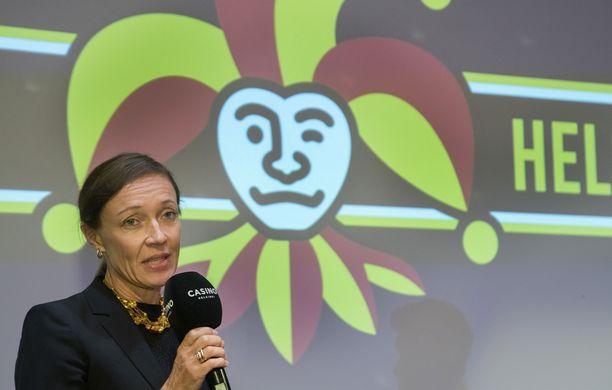 Eveliina Mikkola väistyy Jokerien toimitusjohtajan paikalta.