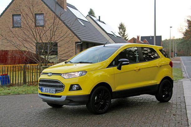 EcoSport on Fordin pienin katumaasturi, jota ei ainakaan toistaiseksi ole saatavilla Suomessa.