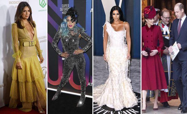 Muun muassa laulaja Lady Gaga on pituudeltaan 155 senttimetriä. Ehkäpä hän siksi suosii korkokenkiä?