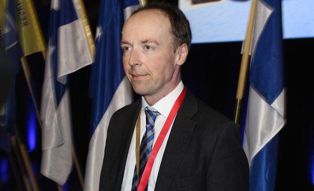 Jussi Halla-aho valittiin lauantaina perussuomalaisten puheenjohtajaksi.