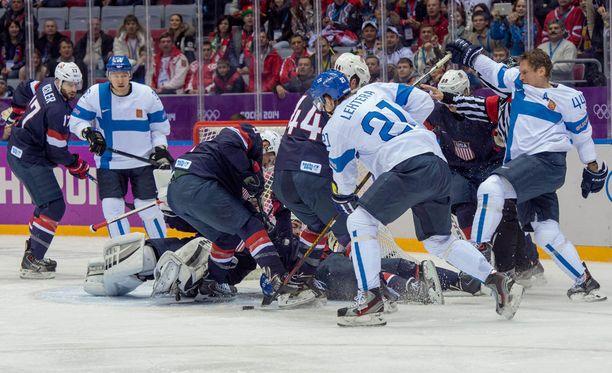 Leijonat voitti pronssia Sotshin talvikisoissa 2014.