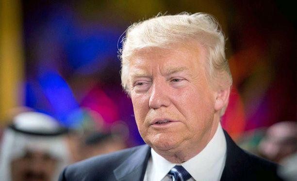 Trump on parhaillaan ensimmäisellä ulkomaanmatkallaan Yhdysvaltain presidenttinä.