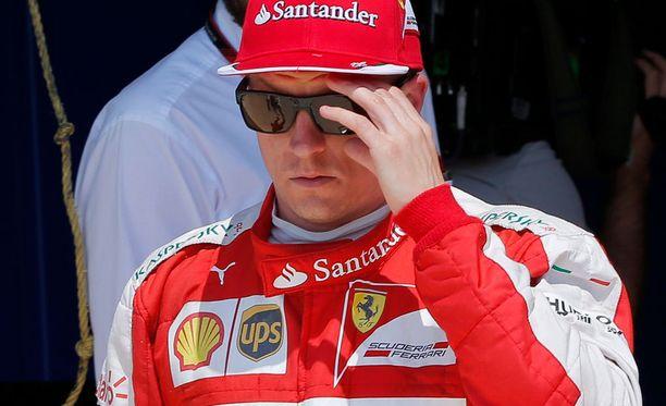 Kimi Räikkönen osoitti Itävallassa tyytymättömyytensä italialaisiin toimittajiin.