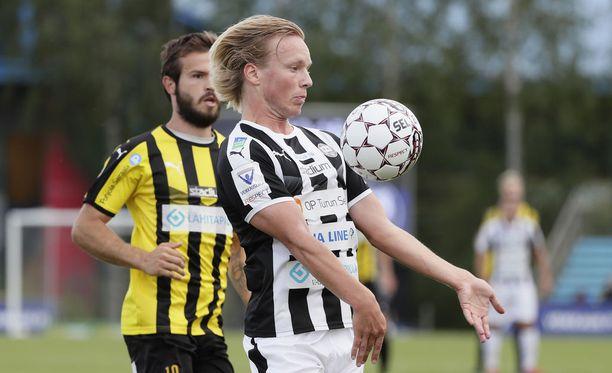 Niklas Blomqvist avasi maalihanat TPS:n voitossa.