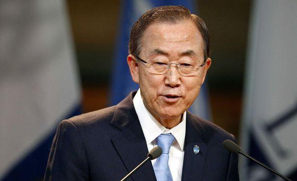 Ban Ki-moonin mukaan asetarkastajat ovat saamassa työnsä päätökseen Syyriassa.