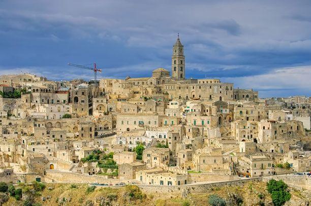Italian Matera on suosittu elokuvien filmauspaikka. Tänä vuonna se on myös toinen Euroopan kulttuuripääkaupungeista.
