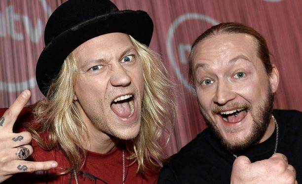 Kuvassa Jukka ja Jarppi vuonna 2013.