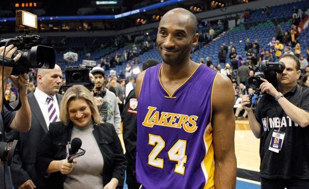 Kobe Bryant ohitti lapsuutensa idolin.